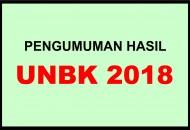HASIL UNBK 2018
