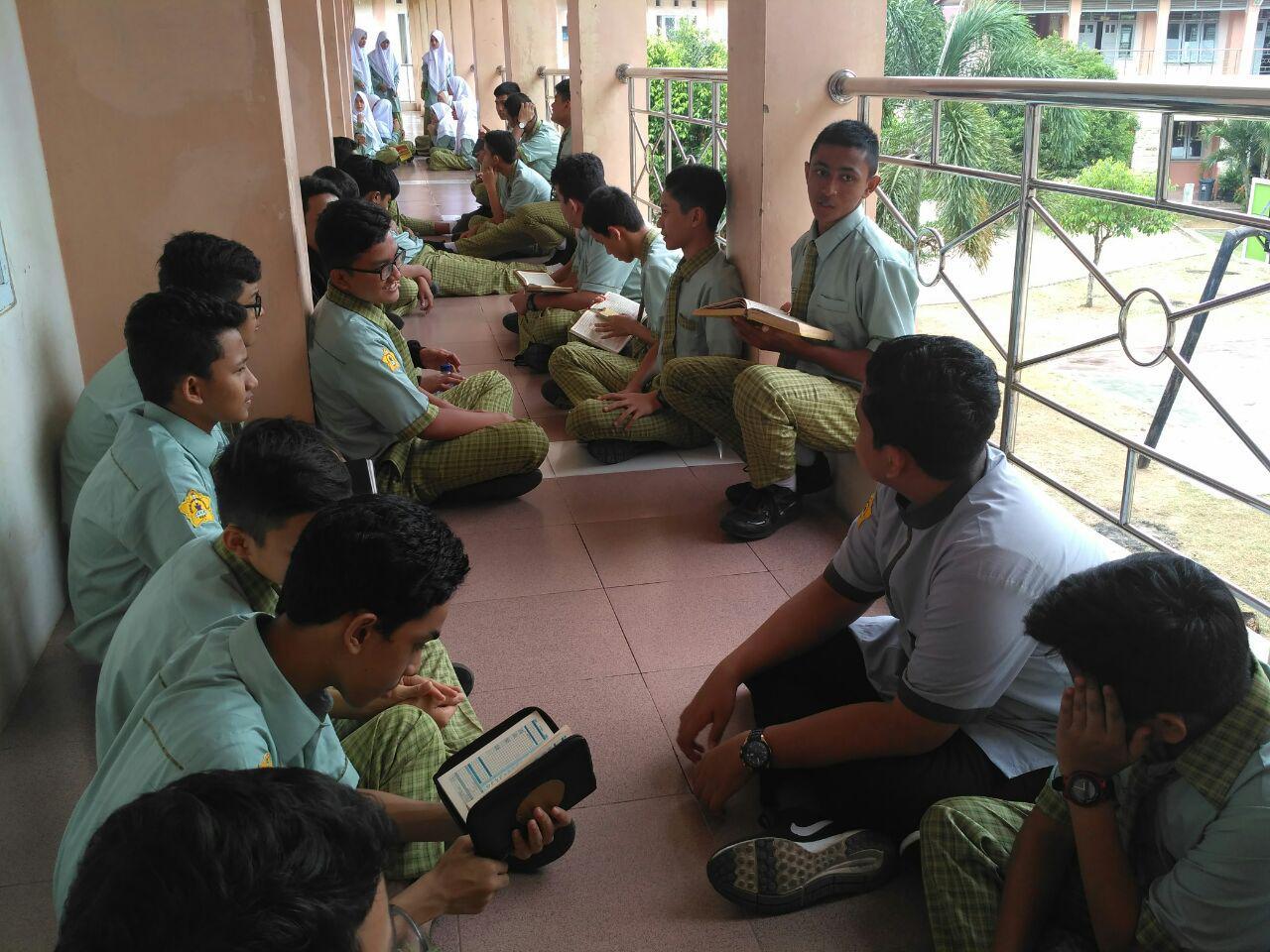 persiapan siswa dalam pemetaan pembacaan Al Quran